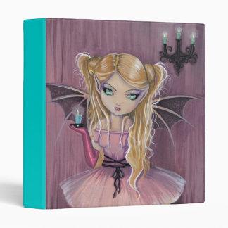 Little Gothic Pink Vampire Binder