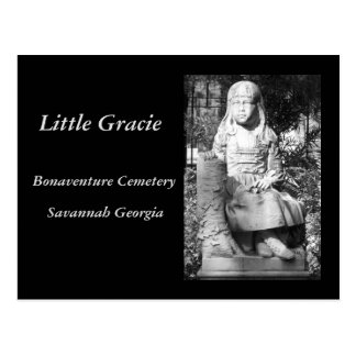 Little Gracie in Bonaventure Cemetery Postcard