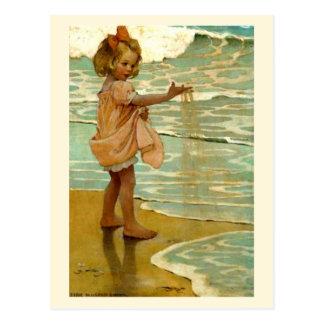'Little Grains of Sand' Postcard