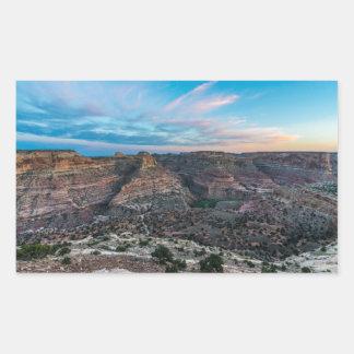 Little Grand Canyon Sunset - Wedge Overlook - Utah