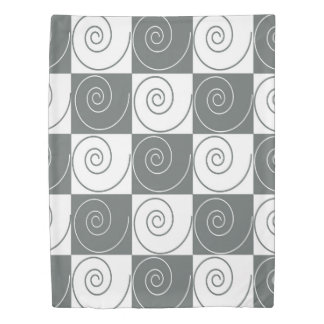 Little Gray Mousey Tails Duvet Cover