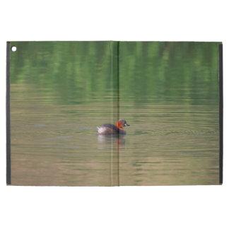 """Little grebe duck in breeding plumage iPad pro 12.9"""" case"""