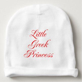 Little Greek Princess Cute Greek Girl Baby Hat Baby Beanie