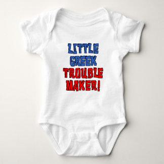 Little Greek Trouble Maker Baby Bodysuit