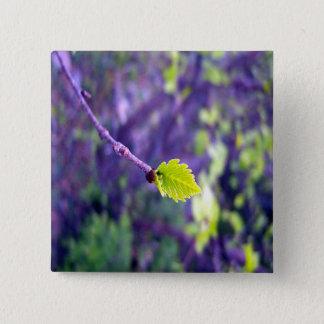 Little Green Leaf Button