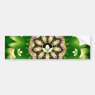 Little Green Man Bumper Sticker