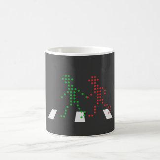 Little Green Man Classic White Coffee Mug