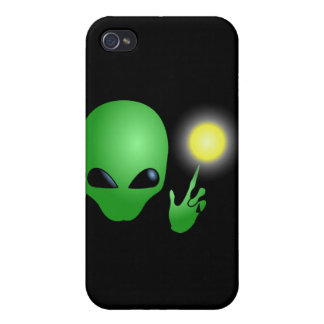 Little Green Man iPhone Case Cover For iPhone 4