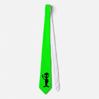 Little Green Man Tie