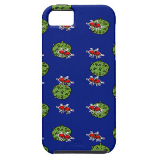 little green men and little green planets iPhone 5 cases