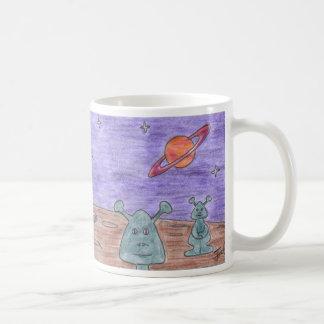 LITTLE GREEN MEN mug