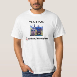 Little Guy Trucker Funny Face T-Shirt