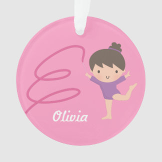 Little Gymnast Girl Gymnastics Room Decor Ornament