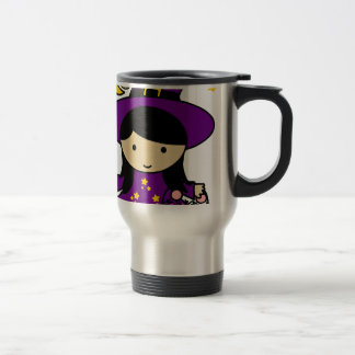 Little Halloween Witch Travel Mug