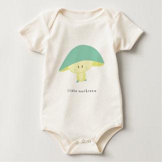 Little Happy Mushroom Baby Bodysuit