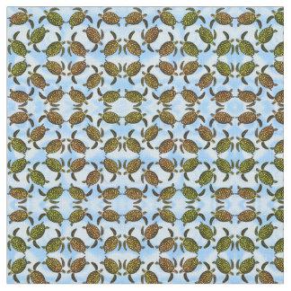 Little Hawksbill Sea Turtles Fabric