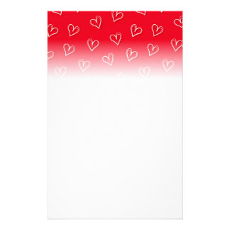 Little hearts stationery