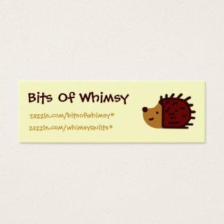Little Hedgehog! Mini Business Card