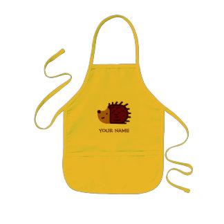 Little Hedgehog Paint Smock! Kids Apron