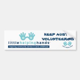 Little Helping Hands Bumper Sticker
