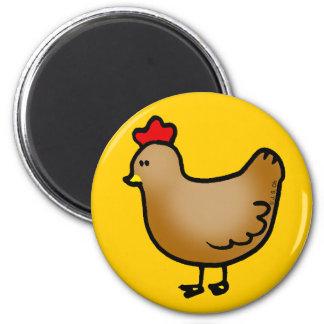 Little hen magnet