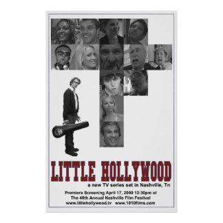 Little Hollywood Poster (Nashville)