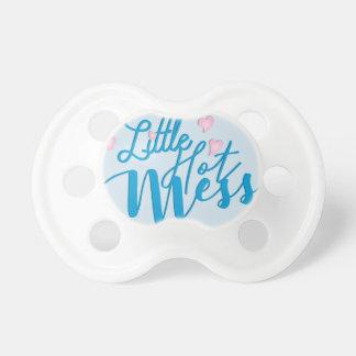 Little Hot Mess Baby Pacifier (Boy)
