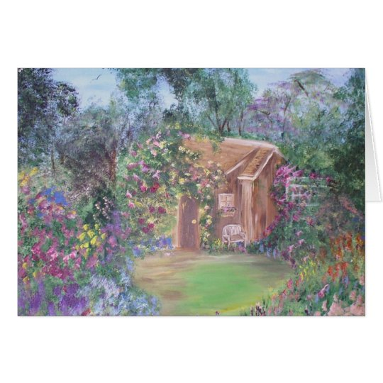 Little House at the End of the Path Card