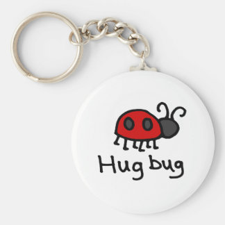 Little Hug Bug Basic Round Button Keychain