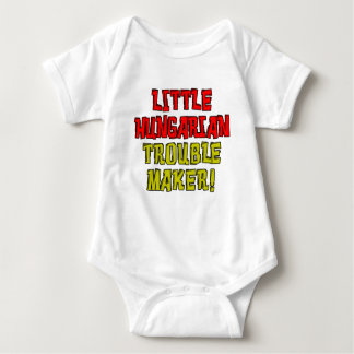 Little Hungarian Trouble Maker Baby Bodysuit