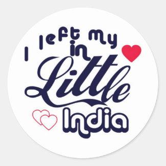 Little India Classic Round Sticker