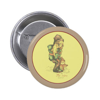 little indra vintage yellow badge