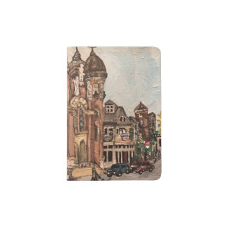 Little Italy, Cleveland Painting Passport Holder