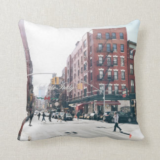 Little Italy. Throw Pillow