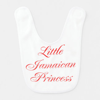 Little Jamaican Princess baby bib