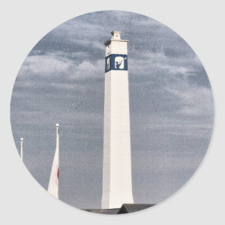 Little Joe Tower in Corning NY Classic Round Sticker