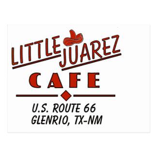 Little Juarez Cafe Sombrero Postcard