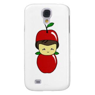 Little Kawaii Apple Boy Galaxy S4 Cover