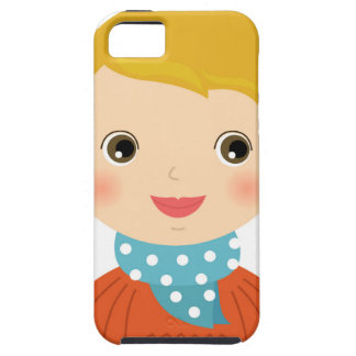 Little kid in sweater / Xmas edition Case For The iPhone 5
