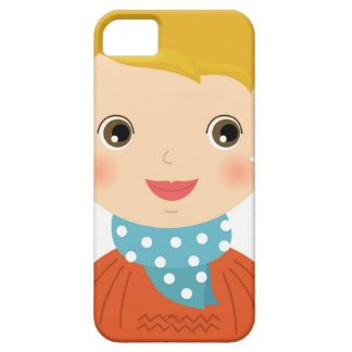 Little kid in sweater / Xmas edition iPhone 5 Cover