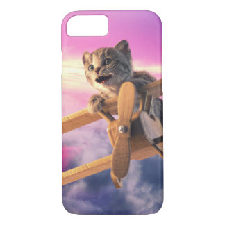 Little Kitten Flies - iPhone Case