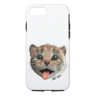 Little Kitten Licks - iPhone Case