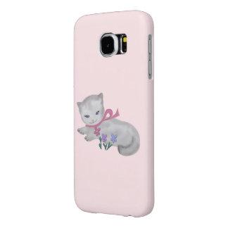Little Kitten Samsung Galaxy S6 Cases