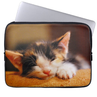Little Kitty Sleeping Computer Sleeve
