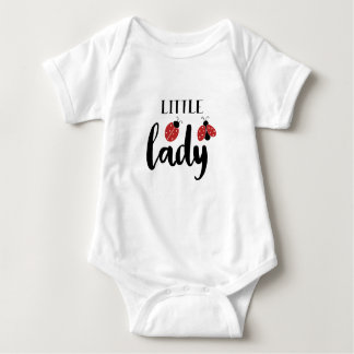 Little Lady | Cute Ladybugs Baby Bodysuit