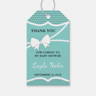 Little Lady Thank You Tag, Favor Gift Tags