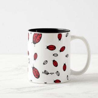 Little LadyBugs White Mug