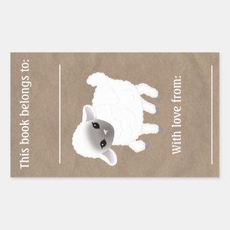 Little Lamb Book Plate