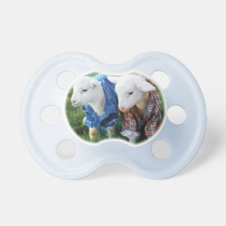Little Lamb Pacifier Dummy