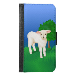 Little Lamb Samsung Galaxy S6 Wallet Case
